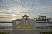 Cypremort Point Pier Prints - His mercies begin fresh each morning Print by Bonnie Barry