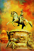 Russian Painting Metal Prints - Historic Centre of Saint Petersburg and Related Groups of Monuments Metal Print by Catf