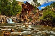 Old Mills Photo Prints - Historic Colorado Landscape Print by Adam Jewell