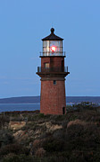 Vineyard Art Prints - Historic Gay Head Light Print by Juergen Roth