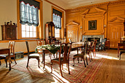 Council Framed Prints - Historic Governor Council Chamber Framed Print by Olivier Le Queinec