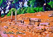 Historic Greece Print by John Malone