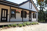 Vineyards Photos - Historic Jack London Cottage and Garden in Glen Ellen California 5D24535 by Wingsdomain Art and Photography