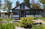 Vineyards Photos - Historic Jack London Cottage and Garden in Glen Ellen California 5D24556 by Wingsdomain Art and Photography