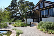 Wineries Posters - Historic Jack London Cottage and Garden in Glen Ellen California 5D24567 Poster by Wingsdomain Art and Photography
