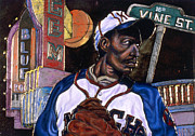 Baseball History Painting Posters - Historic Kansas City Poster by Anthony High