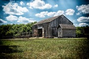 Buttonwood Farm Posters - Historic Kelley Farm Barn Poster by Todd and candice Dailey
