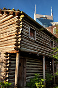 Log Cabins Art - Historic Nashville by Brian Jannsen