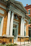 Historic Old Bank In Downtown Middlebury Vermont Print by Robert Ford