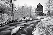 Winter Scenes Photo Prints - Historic Oregon Print by Darren  White