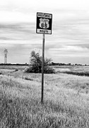Fotos Prints - Historic Route 66 Print by John Rizzuto
