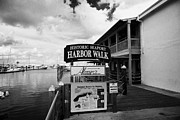 Seaport Posters - Historic Seaport Harbor Walk Key West Florida Usa Poster by Joe Fox