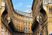 Historic Housing Prints - Historic Tenement Houses in Budapest Print by Artur Bogacki