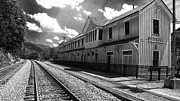 Train Depot Photos - Historic Thurmond Depot by Thomas R Fletcher