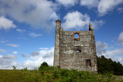 Ruin Photo Prints - Historic tin mine Print by James Brunker