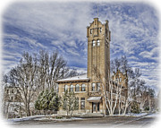 Missoula Prints - Historic Train Station Print by Fran Riley