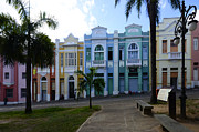 Historic Buildings Posters - Historical Buildings Joao Pessoa Brazil Poster by Bob Christopher