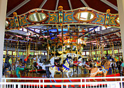 Band Organ Framed Prints - Historical Carousel in Tennessee Framed Print by Kathy  White