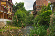 Kaysersberg Photos - Historical town of Kaysersberg in the Alsace by Jan Marijs