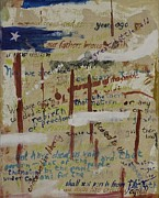 Independence Painting Originals - History 101 by Lawrence  Dugan
