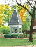 Bell Tower Paintings - History and Tradition by Barbara Jewell