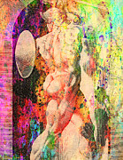 Drown Digital Art - History Culture Of Nude by Mark Ashkenazi