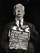Hitchcock Print by Rob Merriam