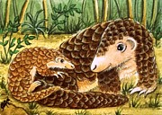 Debrah Nelson - Hitching a ride Pangolin...