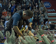 E-street Prints - HK Areena-Bruce Springsteen Print by Jeff Ross