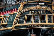 Hms Framed Prints - HMS Bounty Framed Print by Fred LeBlanc
