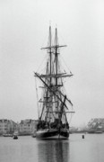 Wooden Ship Photo Posters - HMS Grampus Poster by Cindi Ressler