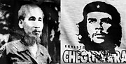 Revolutionaries Framed Prints - Ho Chi Minh and Che Guevara Framed Print by Rick Piper Photography