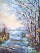 Impressionism Sculpture Prints - Hoare Frost  Print by Heather Harman