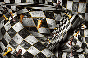 Optical Illusion Digital Art Prints - Hobby - Chess - Your move Print by Mike Savad
