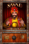 Portriat Prints - Hobby - Have your fortune told Print by Mike Savad