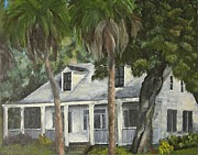 Florida House Painting Posters - Hoffman House Poster by Susan Richardson