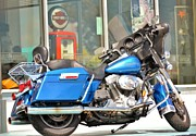 Harley Davidson Road King Motorcycles Photos - Hog by Name Not by Fuel by Rene Triay