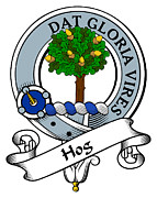 Genealogy Prints - Hog Clan Badge Print by Heraldry