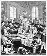 1750 Prints - Hogarth: Cruelty, 1750 Print by Granger