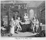 Hogarth Prints - Hogarth: Marriage Print by Granger
