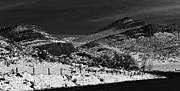Colorado Prints Originals - Hogbacks in the snow by Jon Burch Photography