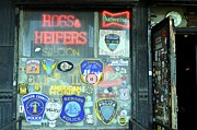 Police Art Posters - Hogs and Heifers Poster by Allen Beatty