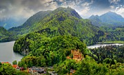 Julia Fine Art And Photography - Hohenschwangau Castle In...
