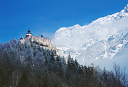Styria Photos - Hohenwerfen Castle by La di  Kirn