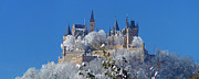 Hohenzollern Castle Germany Print by Rudi Prott