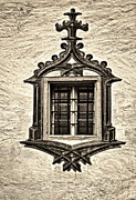 Breathtaking Prints - Hohes Schloss Window Print by Marcia Colelli