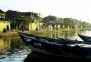 Trawler Metal Prints - Hoi An Dawn 02 Metal Print by Rick Piper Photography