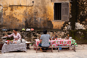 Noodles Prints - Hoi An Noodle Stall 03 Print by Rick Piper Photography