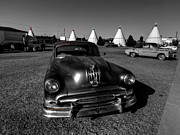 Chevy Framed Prints - Holbrook AZ - Wigwam Motel 005 Framed Print by Lance Vaughn