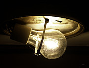 Light Bulbs Prints - Holding Light  Print by Steven  Digman